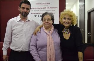 Carmen Flores y Javier Bruna en Rueda de Prensa