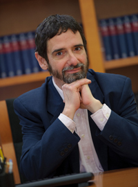 Javier Bruna, Abogado